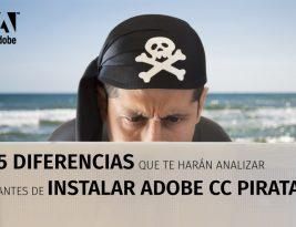 5 diferencias entre Adobe CC Original y Pirata