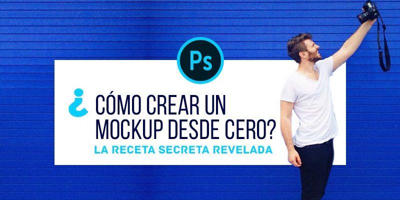 ¿Cómo crear un Mockup en Photoshop?
