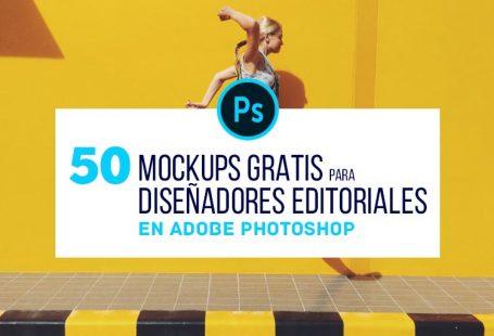50 Mock-Ups PSD Gratis para Diseñadores Editoriales