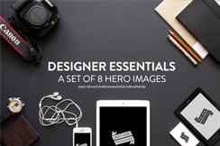 20 hero/images gratis PSD Mockup