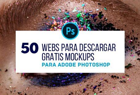 +50 webs para Descargar Mockups Gratis en Photoshop