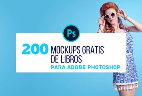 200 Mockups Gratis de Libros para Diseñadores Editoriales